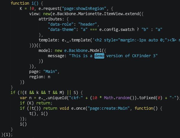 简单破解CKFinder3 for PHP - Gorgias'Blog